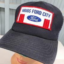 Kribs Ford City St. Louis Dealer Snapback VTG Baseball Cap Hat Made In USA - $17.43