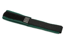 Timex 14-17MM Black Teal Hook & Loop Adventurer Fastwrap Watch Band Strap - $12.38