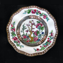 "Coalport Bone China Bread and Butter Plate older ""Indian Tree"" scalloped... - $8.00"
