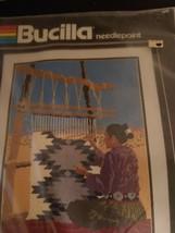 "Bucilla Needlepoint Indian Squaw 12"" x 16""  by Linda Pietz 4546 - $44.55"