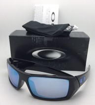 Polarized OAKLEY Sunglasses GASCAN OO9014-15 60-15 Black Frame w/ PRIZM Deep H2O