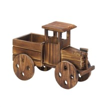Rustic Planter, Antique Truck Garden Decorative Patio Standing Planter O... - $26.99