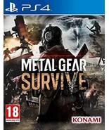 Metal Gear: Survive (english/arabic Box) /ps4 #dah - £12.84 GBP