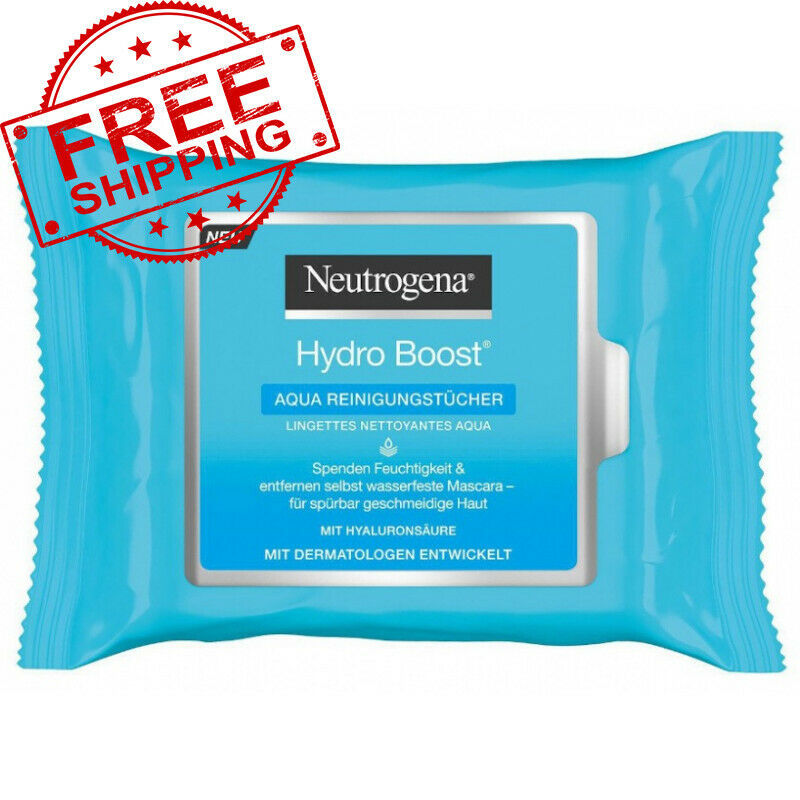 Napkins For Face Neutrogena Hydro Boost Moisturizing, Cleansing 25pcs - $23.36