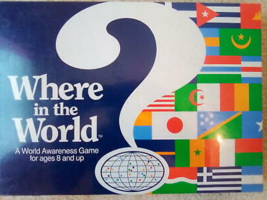 Vintage Where In The World? Awareness Game 1990 - $69.29