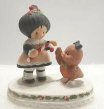"Poppyseed Collection Christmas Figurine Candy Cane Bird Enesco 4""  1984 - $14.80"
