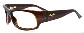 Maui Jim MJ-222-26 Longboard Sunglasses Brown Wraparound 61-20-123 FRAME... - $48.60