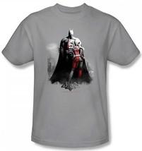 Auténtico DC COMICS Batman Arkham City Videojuego Harley y Murciélagos Camiseta - $23.03+