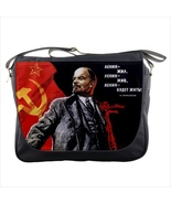 Messenger bag lenin communist hammer and sickle - $42.79