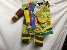 Infant Toddler Mutant Teenage Ninja Turtle Costume Jumper Hat Booties 6-... - £6.00 GBP
