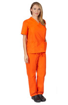 Orange is the New Black Unisex Scrub Set For Halloween Costume Parties a... - $17.84
