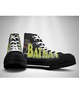 Batman Comic Canvas Sneakers Shoes - $29.99