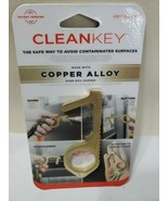 CLEANKEY By KEY SMART #KS904-BRS Avoid Contaminated Surfaces NEW- - $8.60