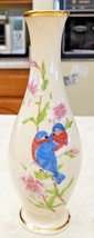 Lenox Eternal Love Vase Made in USA Love Birds - $14.03