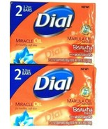 2 Packs Dial 6.4 Oz Miracle Marula Oil Infused Moisturizer 2 Count Beaut... - $13.99