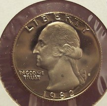 1982-S DCAM Proof Washington Quarter #336 - $0.79