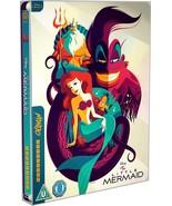 The Little Mermaid Mondo SteelBook Blu-Ray Animation UK Exclusive Disney... - $71.99