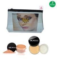 MicaBeauty Full Size Foundation MF7 Lady Godiva+Face & Body Bronzer+Cosm... - $51.00