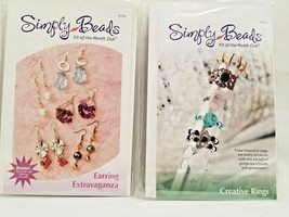 Annie's Simply Beads Club 2 Kits Earring Extravaganza BD044 Creative Rin... - $27.45