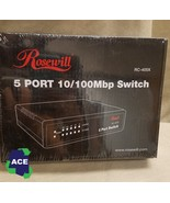 Rosewill RC 405 Five Port Switch 10/100Mbp - $13.00