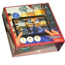 Cinderella Jigsaw Puzzle 4D Interactive - Featuring Cinderella for Kids Ages 4-8