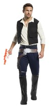 Rubini Star Wars Classic Han solo Skywalker da Uomo Adulto Costume Hallo... - $62.74