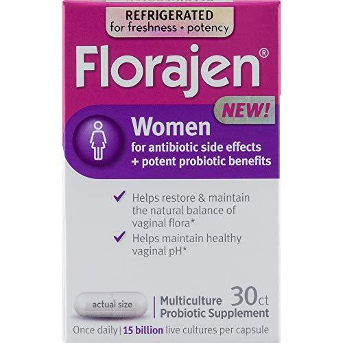 Florajen Women High Potency Refrigerated Probiotics | Maintains Women's Health |