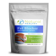 120 CHITOSAN FAT BLOCKING NATURAL PILLS - NATURAL WEIGHT MANAGEMENT - $19.38
