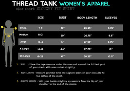 Thread Tank G.O.A.T. (Greatest Of All Time) 902Xw Women's Slouchy Dolman... - $24.99+