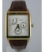 Seiko  watches brown bracelet gold tone case SPA004P1 - $158.13