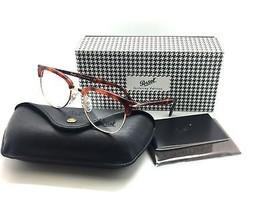 Persol Brown metal plastic 3197V Eyeglasses 1072 100% AUTHENTIC - $107.77