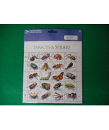 Insects & Spiders Mint Stamp Sheet NH VF Original pk - $7.08