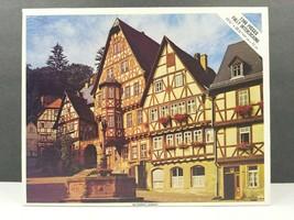Miltenberg Germany Whitman Vintage 1200 Pc Jigsaw Puzzle Travel Europe U... - $25.73