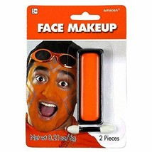 Party Perfect Team Spirit Cream Face Makeup Accessory (1 Piece) Orange - $5.89