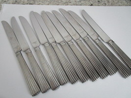 Reed & Barton Dinner Knives Lot of 11, Gently Used, Similar to Crescendo... - $14.99
