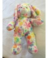 Build A Bear Workshop BAB Pastel Flowers Daisy Easter Bunny Rabbit Plush... - $22.00