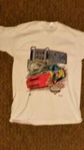 Vintage JEFF GORDON 1995 Brickyard 400 Winner T-shirt Adult XL-Double Sided - $23.75