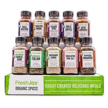 Organic 10 Spice Gift Set: Keto Grilling - $49.99