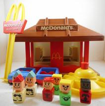 Vintage 1974 McDonald's Playskool Familiar Places Play Set #430 - $29.69