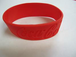 Coca-Cola Silicone Wrist Band Bracelet Lot of 5 - $7.43