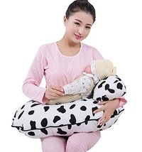 Multi-Function Postpartum Breastfeeding Cushion Pregnant Pillow Black White