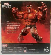 Hasbro Marvel Legends Series Red Hulk 6 inch Action Figure Target Exclusive NIB image 3