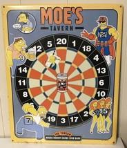 Simpsons Metal Moes Tavern Sign Dart Board 19x15 Rockette Fox 2002 Offic... - $123.75
