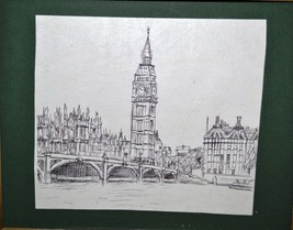 Ink Drawing/ / Painting City Landscape - $19.70