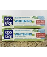 Kiss My Face Whitening Fluoride Free Toothpaste Cool Mint Gel 4.5oz NEW ... - $39.48