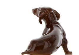 Hagen Renaker Pedigree Dog Dachshund Large Ceramic Figurine image 5