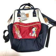 Disney Store JAPAN anello Pinocchio Rucksack Backpack Shoulder School Bag - $252.45