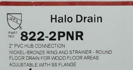 Sioux Chief Manufacturing Halo Drain 822 2PNR Nickel Bronze image 4