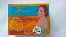 3 x 130g. Vipada Vitamin C & E Face Body Soap Radiant Skin Smooth Acne Freckles - $28.55