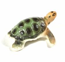 Vintage Hagen Renaker Sea Turtle Miniature Ceramic Figurine - Mint! - $13.06